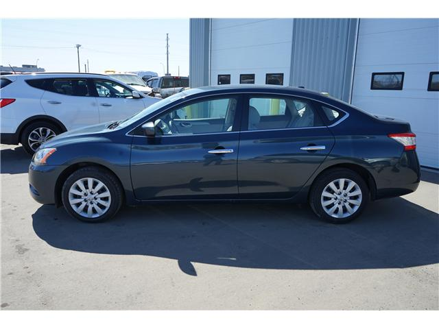 2013 Nissan Sentra 1.8 SV (Stk: IU9964R) in Thunder Bay - Image 2 of 8