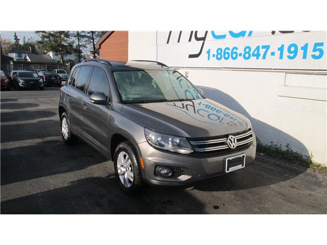 2014 Volkswagen Tiguan Trendline (Stk: 171565) in Kingston - Image 1 of 13