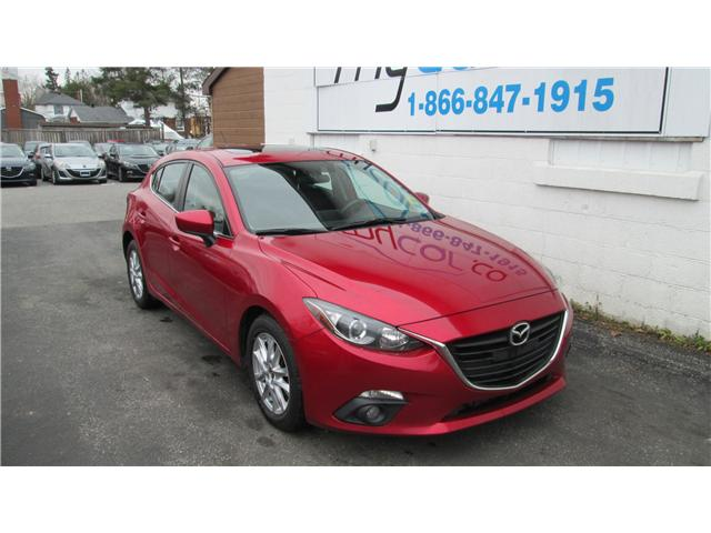 2015 Mazda Mazda3 GS (Stk: 171761) in Kingston - Image 1 of 14