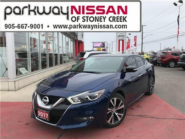2017 Nissan Maxima  (Stk: N18237A) in Hamilton - Image 1 of 19