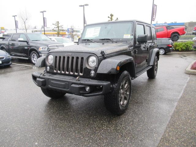 2018 Jeep Wrangler JK Unlimited Sport (Stk: J903576) in Surrey - Image 2 of 12