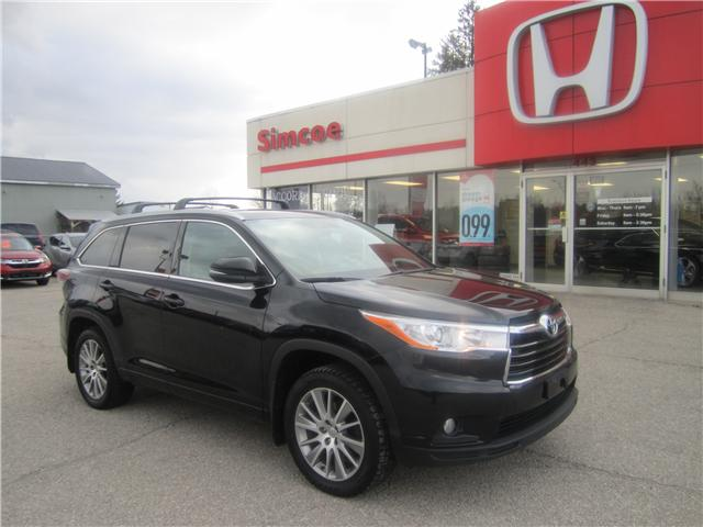 2015 Toyota Highlander XLE (Stk: 1859A) in Simcoe - Image 1 of 17