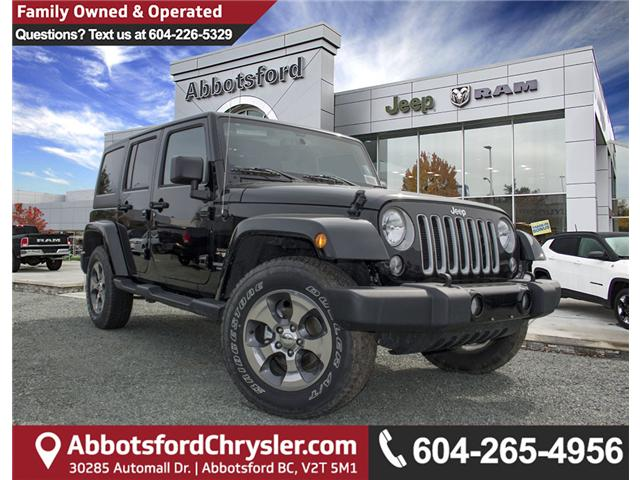 2017 Jeep Wrangler Unlimited Sahara (Stk: H727416) in Abbotsford - Image 1 of 23