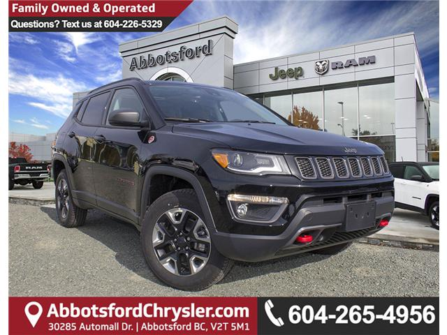 2018 Jeep Compass Trailhawk (Stk: J112825) in Abbotsford - Image 1 of 28
