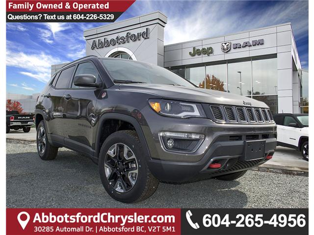 2018 Jeep Compass Trailhawk (Stk: J129474) in Abbotsford - Image 1 of 9