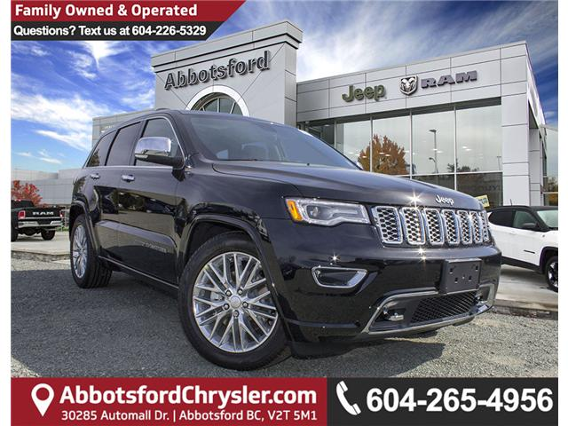 2018 Jeep Grand Cherokee Overland (Stk: J302981) in Abbotsford - Image 1 of 27