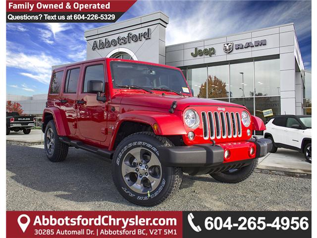 2018 Jeep Wrangler JK Unlimited Sahara (Stk: J863962) in Abbotsford - Image 1 of 21