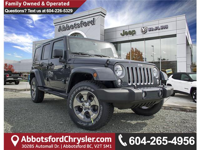 2018 Jeep Wrangler JK Unlimited Sahara (Stk: J863968) in Abbotsford - Image 1 of 22