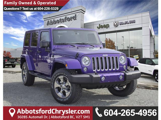 2018 Jeep Wrangler JK Unlimited Sahara (Stk: J863969) in Abbotsford - Image 1 of 25