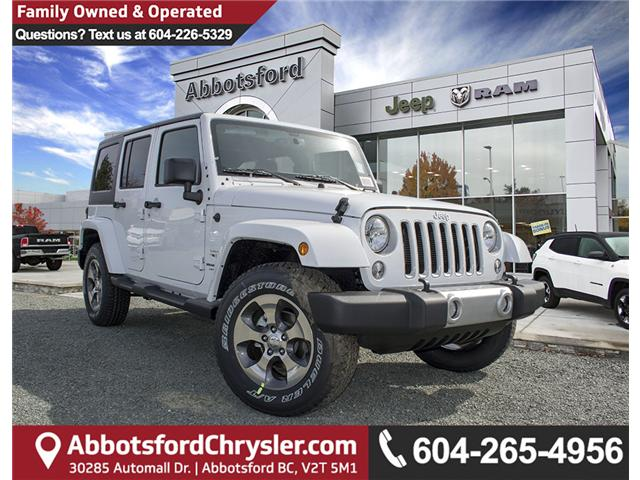 2018 Jeep Wrangler JK Unlimited Sahara (Stk: J863978) in Abbotsford - Image 1 of 18