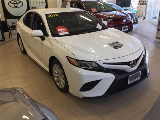 2018 Toyota Camry SE (Stk: N27217) in Goderich - Image 1 of 1