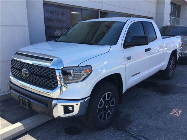 2018 Toyota Tundra SR5 Plus 5.7L V8 (Stk: N39017) in Goderich - Image 1 of 1
