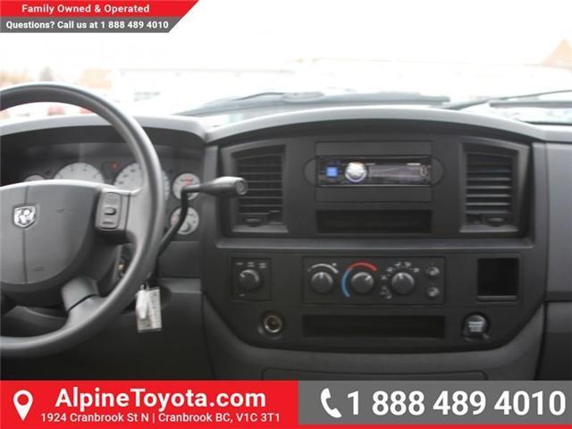 2007 Dodge Ram 1500 ST (Stk: X134582A) in Cranbrook - Image 10 of 17
