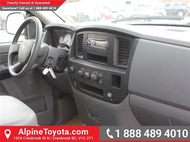 2007 Dodge Ram 1500 ST (Stk: X134582A) in Cranbrook - Image 11 of 17