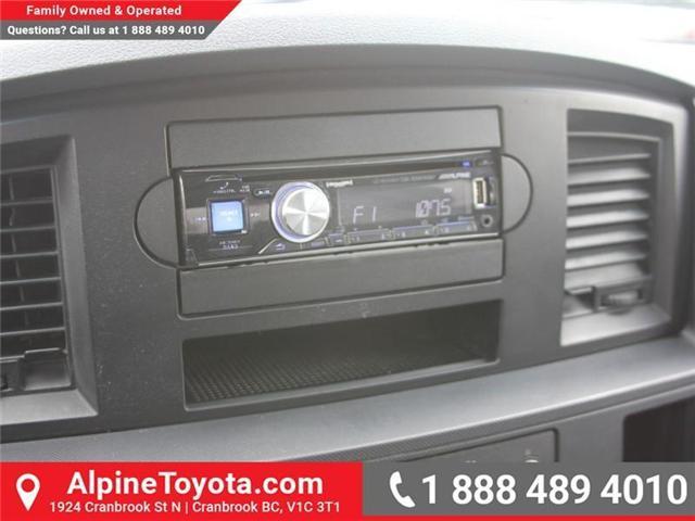 2007 Dodge Ram 1500 ST (Stk: X134582A) in Cranbrook - Image 13 of 17