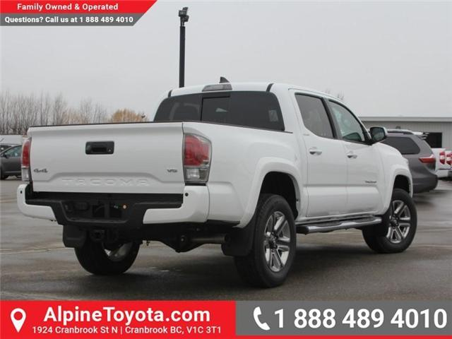 2018 Toyota Tacoma Limited (Stk: X137847) in Cranbrook - Image 5 of 19