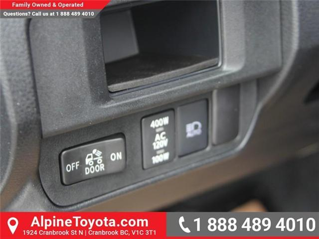 2018 Toyota Tacoma Limited (Stk: X137847) in Cranbrook - Image 16 of 19
