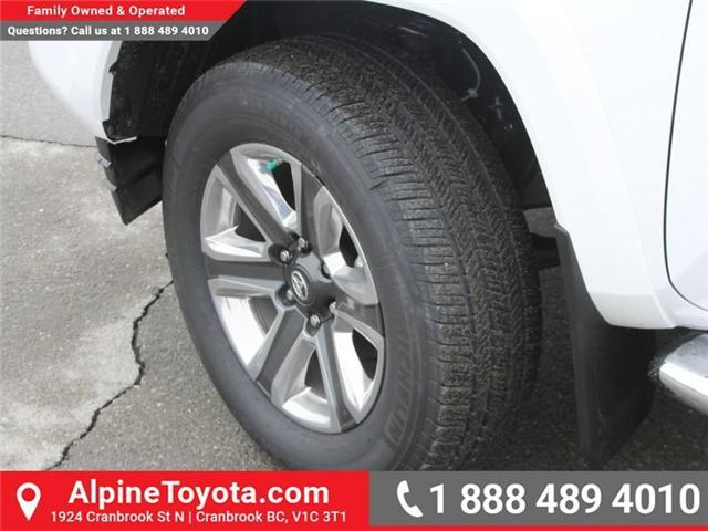 2018 Toyota Tacoma Limited (Stk: X137847) in Cranbrook - Image 18 of 19