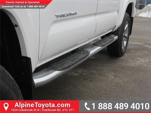 2018 Toyota Tacoma Limited (Stk: X137847) in Cranbrook - Image 19 of 19
