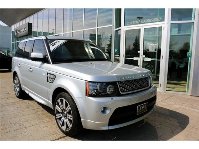 2013 Land Rover Range Rover Sport Supercharged (Stk: 3782A) in Calgary - Image 2 of 10