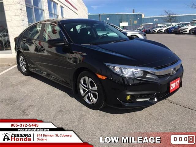 2017 Honda Civic LX (Stk: U1635) in Cobourg - Image 1 of 20