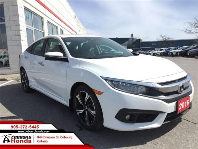 2016 Honda Civic Touring (Stk: U1638) in Cobourg - Image 1 of 21