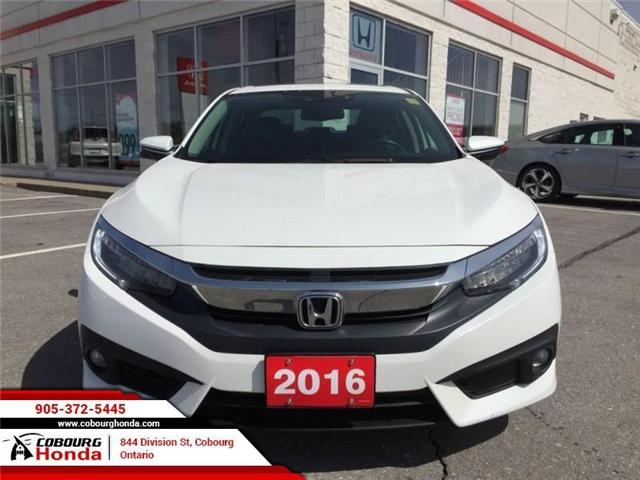 2016 Honda Civic Touring (Stk: U1638) in Cobourg - Image 2 of 21