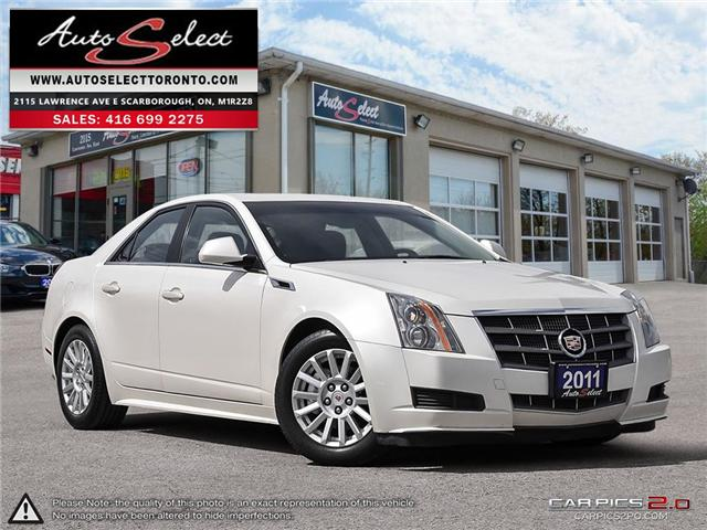 2011 Cadillac CTS  (Stk: 11CTV911) in Scarborough - Image 1 of 28