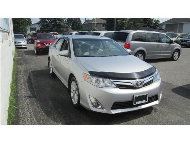 2013 Toyota Camry XLE V6 (Stk: 171115) in Kingston - Image 1 of 13