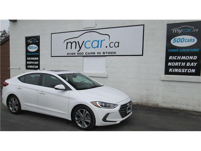 2018 Hyundai Elantra GLS (Stk: 180410) in North Bay - Image 2 of 14