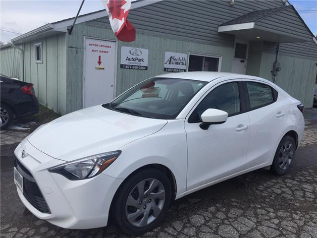 2016 Toyota Yaris Base (Stk: -R27115) in Kincardine - Image 1 of 11