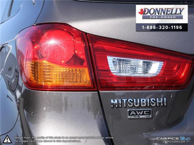 2017 Mitsubishi RVR SE Limited Edition (Stk: MUR878) in Kanata - Image 12 of 27