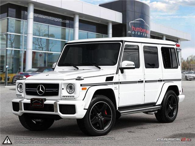 2015 Mercedes-Benz G-Class Base (Stk: 18MSX216) in Mississauga - Image 1 of 27