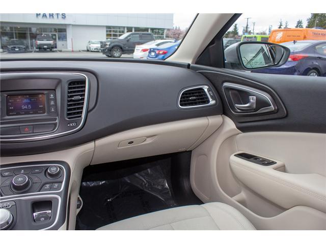 2016 Chrysler 200 LX (Stk: P80516) in Surrey - Image 13 of 23