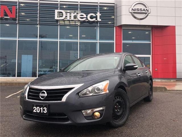 2013 Nissan Altima 2.5 SL. Leather seats, Sunroof (Stk: N3025A) in Mississauga - Image 1 of 15