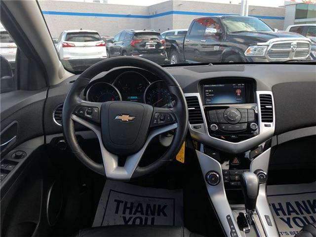2016 Chevrolet Cruze 2LT|ONE OWNER|LEATHER HEATED SEATS|MOONROOF| (Stk: PA16898) in BRAMPTON - Image 13 of 20