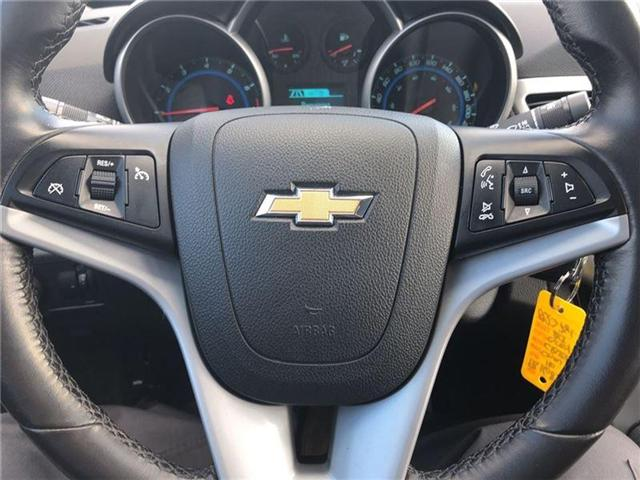 2016 Chevrolet Cruze 2LT|ONE OWNER|LEATHER HEATED SEATS|MOONROOF| (Stk: PA16898) in BRAMPTON - Image 17 of 20