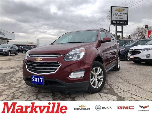 2017 Chevrolet Equinox LT-NAVI-ROOF-TRUE NORTH- GM CERTIFIED PRE-OWNED (Stk: P6152) in Markham - Image 1 of 20