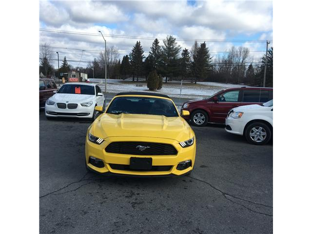 2017 Ford Mustang V6 (Stk: uco285) in Cornwall - Image 1 of 11