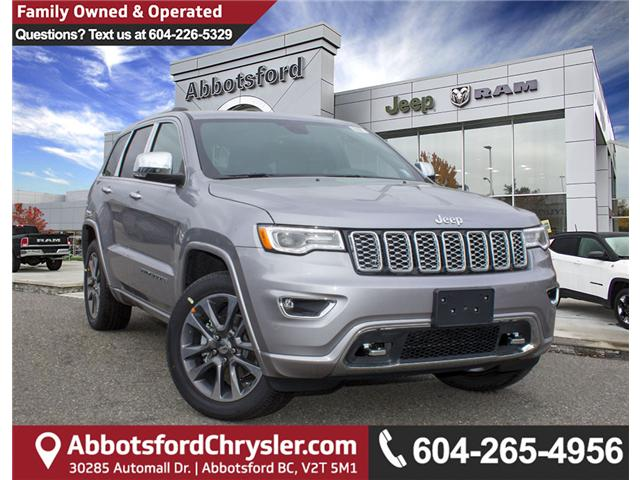 2018 Jeep Grand Cherokee Overland (Stk: J311190) in Abbotsford - Image 1 of 30