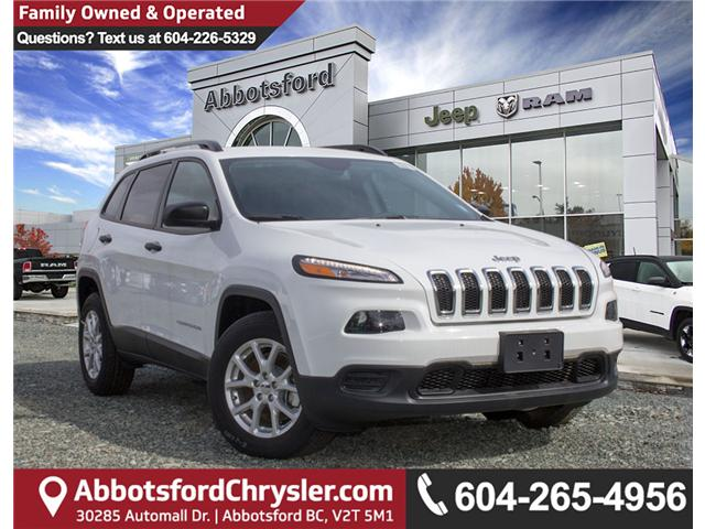 2018 Jeep Cherokee Sport (Stk: J517555) in Abbotsford - Image 1 of 28