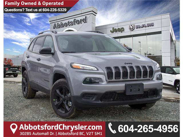 2018 Jeep Cherokee Sport (Stk: J517531) in Abbotsford - Image 1 of 27