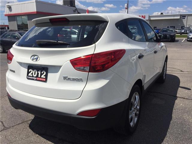 2012 Hyundai Tucson L (Stk: 1708202) in Cambridge - Image 6 of 11