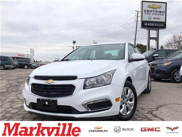 2016 Chevrolet Cruze 1LT- GM CERTIFIED PRE-OWNED - 1 OWNER TRADE (Stk: 164348A) in Markham - Image 1 of 21