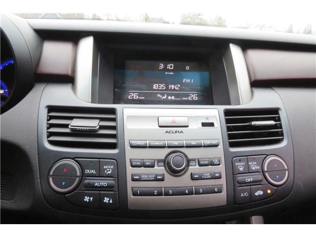 2011 Acura Rdx Leather Sunroof Backup Camera At 12980