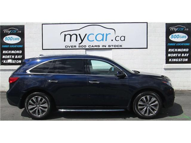 2014 Acura MDX Navigation Package (Stk: 171288) in Richmond - Image 1 of 14