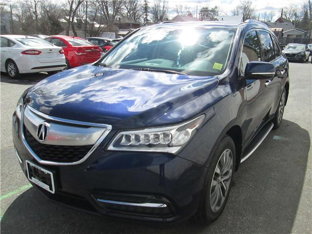 2014 Acura MDX Navigation Package (Stk: 171288) in Richmond - Image 6 of 14