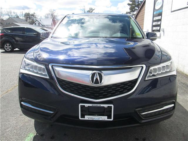 2014 Acura MDX Navigation Package (Stk: 171288) in Richmond - Image 7 of 14