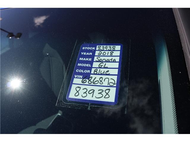 2018 Hyundai Sonata GL (Stk: 83938) in Saint John - Image 2 of 3