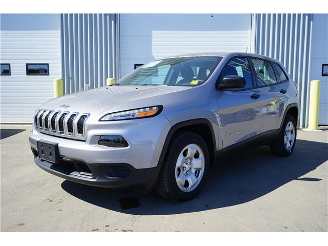 2017 Jeep Cherokee Sport (Stk: 1719491) in Thunder Bay - Image 1 of 8